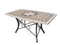 Starburst 1.5m rectangle table