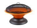 Riverlea Moda Enamelled Firebowl Orange