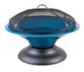 Riverlea Moda Enamelled Firebowl Blue