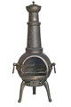 Riverlea Sierra XL Bronze Cast Iron Chimenea
