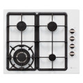 Parmco 600mm DiModa White Gas Hob with Wok