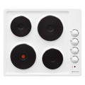 Parmco 600mm Electric Hob - White