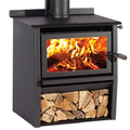 Metro Xtreme Rad Freestanding Wood Fire (Woody)