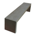 Fiber Cement 2m Outdoor Bench