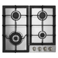 Parmco 3 Burner Gas Hob with Wok
