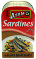 Ayam Sardines in Black Bean Sauce 120g