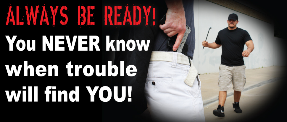 Always be ready, with your concealed carry holster from White Hat Holsters