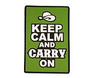 Keep Calm and Carry On Patch