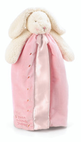 """Bunnies by the Bay """"Blossom's Buddy Blanket-Baby Pink"""" 110711"""