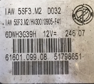 Fiat Engine ECU IAW5SF3.M2, IAW 5SF3.M2, 61601.099.08, 51798651