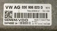 03E906023D, 03E 906 023 D, 5WP40502 04, SIMOS 9.1