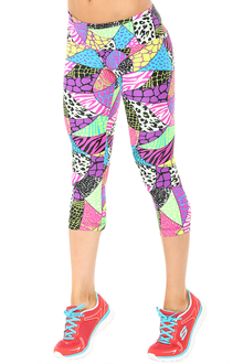 JNL - South Beach Sport Band 3/4 Leggings - FINAL SALE - XS, S, M, & L