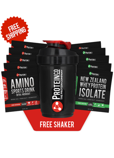 Training Fuel / New Zealand Whey Protein Isolate Pack