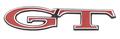 "Emblem Hood 69 Dart ""GT"""