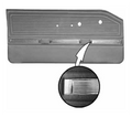 1965 Valiant Signet Front Door Panels Bucket Style