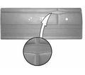 1968 Dart GT & Dart GTS Hardtop Rear Panels Bucket Style