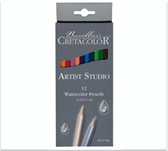 Cretacolor Artist Studio Watercolour Pencils Set of 12  - CLEARANCE!!!