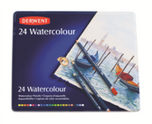Derwent Watercolour Pencils Set 24 - CLEARANCE SALE!!1 While stocks last.  No exchange or refund on clearance items