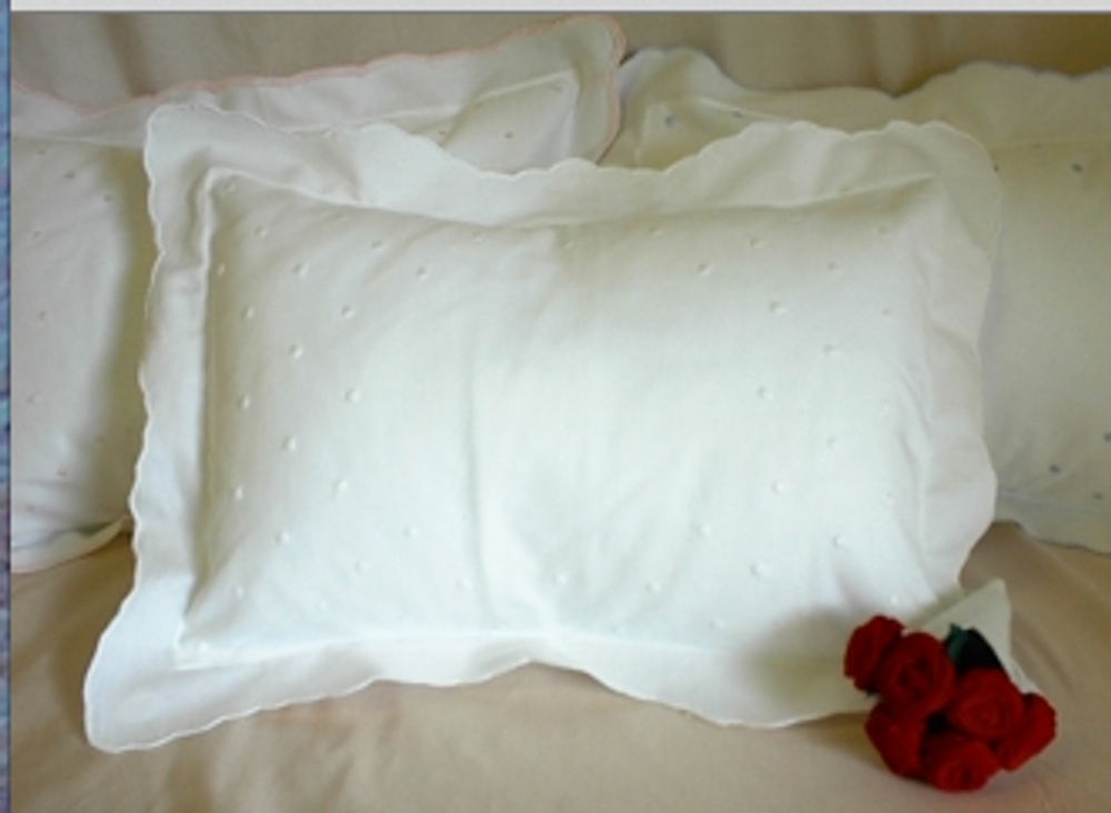 Baptism Pillow blank