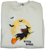 Halloween Sweatshirt - Witchy Woman Design