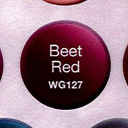 WaveGel Matching S/O Gel & Nail Lacquer - Beet Red .5 oz WG127