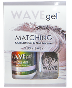 WaveGel Matching S/O Gel & Nail Lacquer - LUXY BABY .5 oz W149