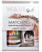 WaveGel Matching S/O Gel & Nail Lacquer - MAIDEN OF GRAPE .5 oz W156