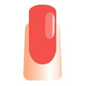 WaveGel Matching S/O Gel & Nail Lacquer - Blood Orange .5 oz W1160