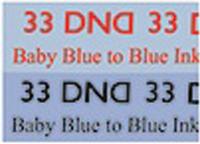 DND Mood Gel - Baby Blue to Blue Ink MC33