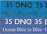 DND Mood Gel - Ocean Blue to Blue MC35