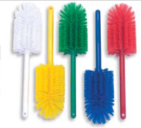 "Malish 16"" Multi-Purpose Foodservice Brush - Yellow"