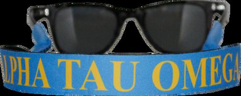 Alpha Tau Omega ATO Fraternity Sunglass Staps