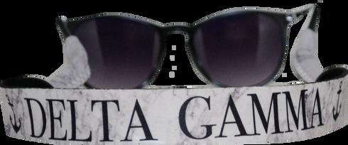 Delta Gamma Sorority Sunglass Straps - Marble