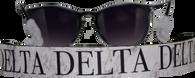 Delta Delta Delta Tri-Delta Sorority Sunglass Straps- Marble