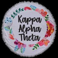 Kappa Alpha Theta Sorority Towel Blanket