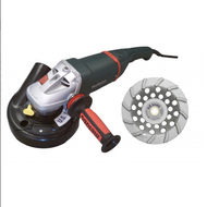 """7"""" Economy Grinder-Vac assembly - Metabo 9"""" W24-230"""
