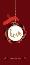 Red - Gift of Love - $25.00