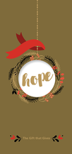 Gold - Gift of Hope - $75.00