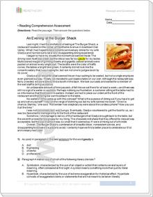 """An Evening at the Burger Shack"" - 8G / 1000L"