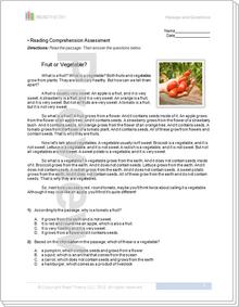 """""""Fruit or Vegetable?"""" - 4G / 320L"""