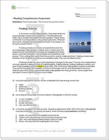 """Floating Schools"" - 5G / 900L"