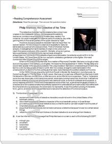 """Philip Marlowe: Detective""  - 11G / 1060L"