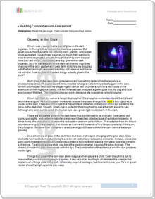 """Glowing in the Dark"" - 7G / 980L"