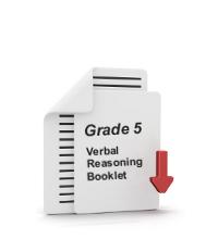 Grade 5 Verbal Reasoning Booklet