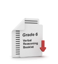 Grade 6 Verbal Reasoning Booklet