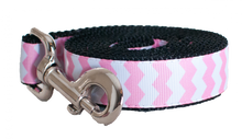 Pink Chevron Leash