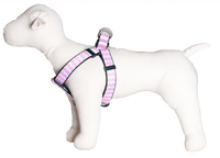 Sku 193 Pink Chevron harness