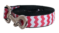 Chevron Red Leash