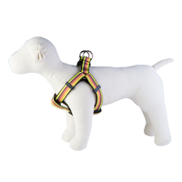 Margarita Mix Dog Harness-Mellow Yellow Stripe