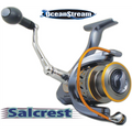 "Combo - Cascade 6'6"" Med-Heavy spin rod  with Salcrest 4000 reel"